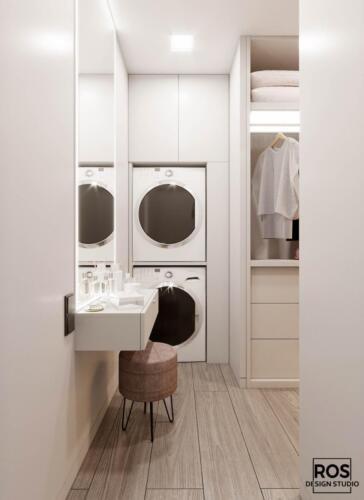Дизайн дворівневої квартири [br] ЖК Семицвіт [br] Площа квартири: 78м2 [br] Стиль: сучасний мінімалізм